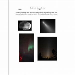 Comets And Asteroids Lesson Plans