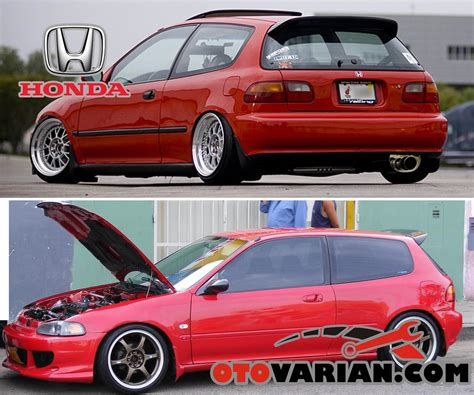 Modif Civic by Modifikasi Honda Civic Estilo Interior Eksterior Dan Audio