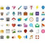 Icons Flat Pixabay Web Graphic Vector