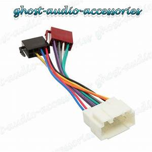 Honda Accord Car Stereo Radio Iso Wiring Harness Adaptor
