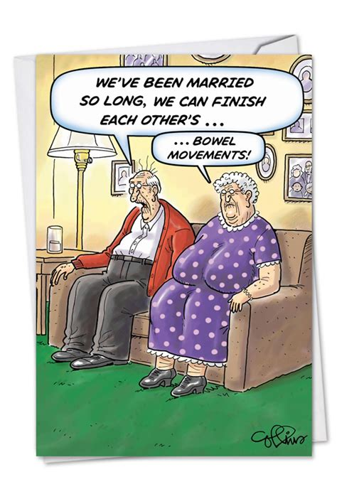 bowel movements cartoons anniversary paper card daniel collins