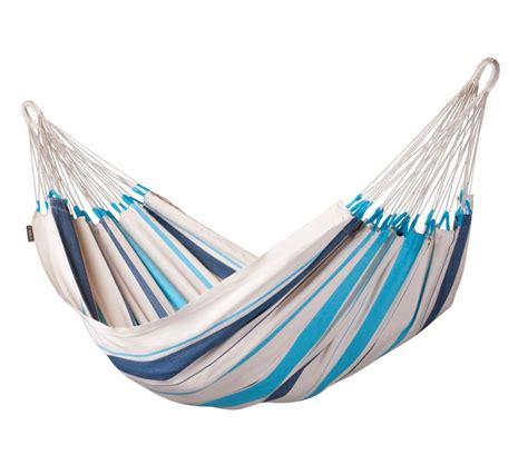 chaise pour bébé hamac simple colombien caribeña bleu la siesta