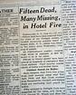 TWILIGHT INN Haines Falls Greene County NY New York FIRE ...