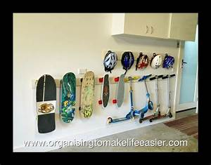 25 best ideas about scooter storage on pinterest diy With wall hook rack moms solution for the house