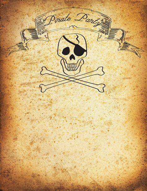 pirate party invitation printable tutorial pirate