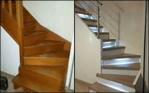 Peindre Un Escalier Deja Vernis by R 233 Nover Un Escalier Peindre Sans Poncer