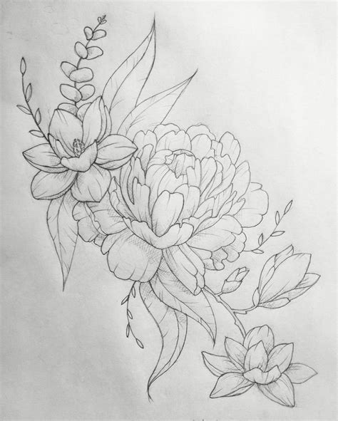 25 Best Ideas About Japanese Pictures Flower Drawings For Tattoos Drawing Gallery