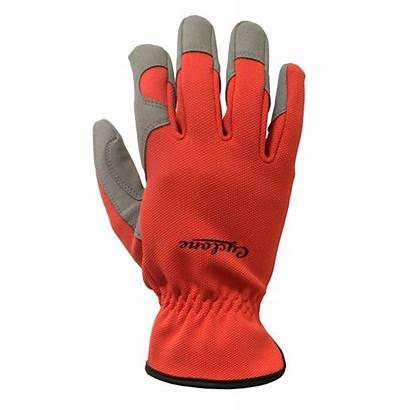 Gloves Orange Gardening Cyclone Sculpt Flexitec Bunnings
