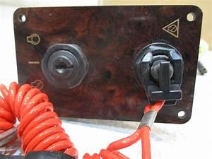 Yamaha Outboard Boat Dash Panel Key Switch Kill Switch