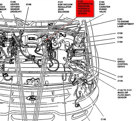 1998 Ford F 150 Part Diagram by 2001 Ford F150 Air Conditioner Diagram