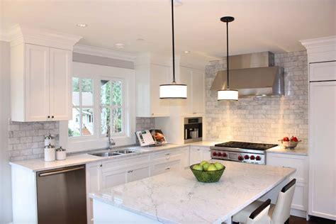 kitchen islands toronto 25 breathtaking carrara marble kitchens for your inspiration