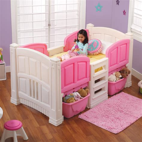 Step 2 Girls Loft Storage Twin Bed Baby Toddler