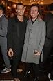 Nick Grimshaw attends LFWM event with boyfriend Meshach ...
