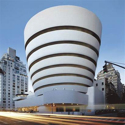 Famous Animated Architecture Buildings Contemporary Stampa Axel