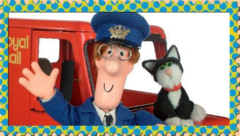 Postman Pat Is A Real Treat