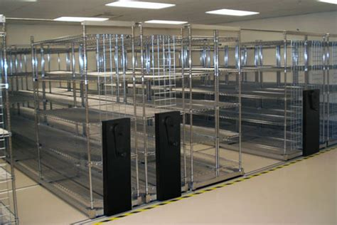 lateral movable storage shelving remco equipment