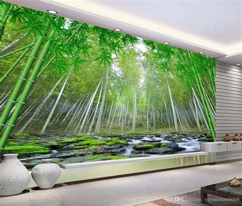customize wall murals  wallpaper bamboo forest mural