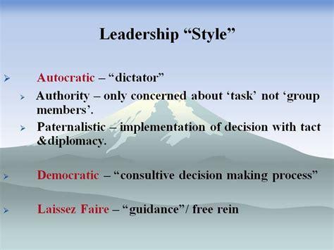 cavalier leadership traits