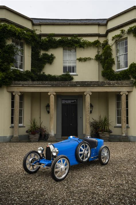 The child mode allows the car to generate 1.3 horsepower only and achieve a top speed of 20 km/h (12 mph). Bugatti Baby II Unveiled at 110th Anniversary