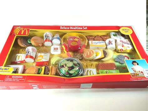 cuisine toys r us mcdonald deluxe mealtime 50 pieces play set