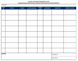 example haccp plan template search results calendar 2015 With haccp plan template free