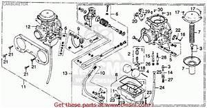 Honda Cb360t 1976 Usa Carburetor