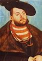 Portrait of Johann Friedrich, Elector of Saxony, 1531 ...