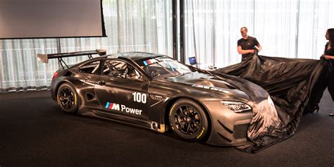 2018 Bmw M6 Gt3 Twin Turbo Racer Unveiled In Melbourne