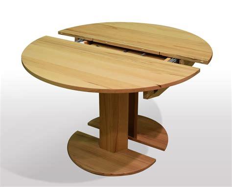 Runde Tische Ausziehbar by Pin Tischmoebel De Auf Runder Esstisch Kernbuche