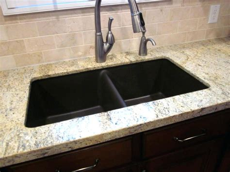 how to clean black granite sink cleaning a composite sink home design ideas and pictures