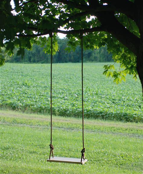 swing como diy tree swing the merrythought