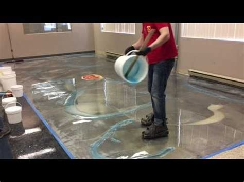 video   paint  garage floor