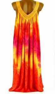 robe ete longue ample grande taille orange louna orange ebay With robe longue été grande taille