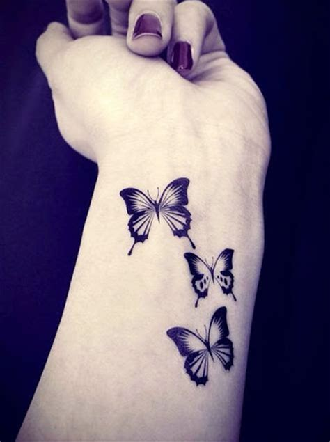 colorful butterfly tattoo ideas godfather style