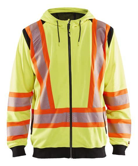 3448: CA hivis sweatshirt - WorkWear-USA