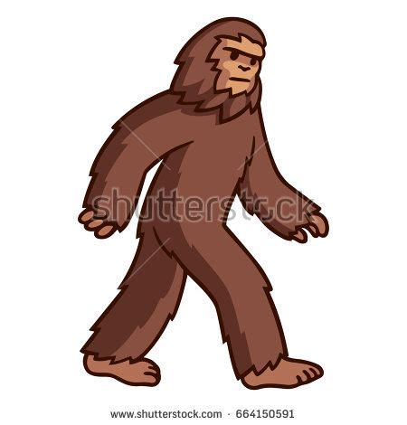 Bigfoot Clipart Bigfoot Stock Images Royalty Free Images Vectors