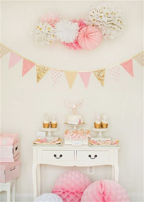 add a pink and gold color scheme to your