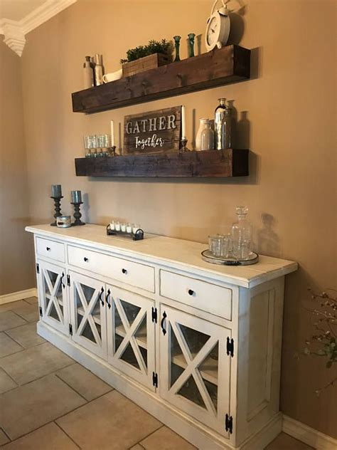 Kitchen Buffet Area by Custom Rustic Farmhouse Buffet In 2018 For The Home