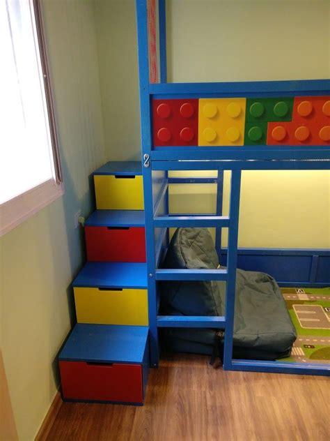 kids loft kura bed  nordli stairs ikea bunk bed
