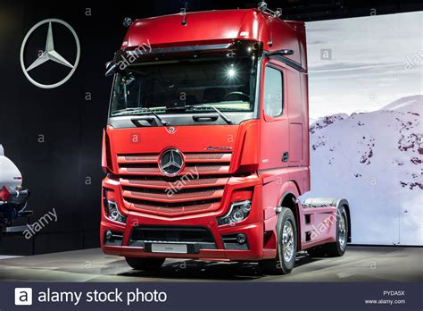 hannover germany sep     mercedes actros