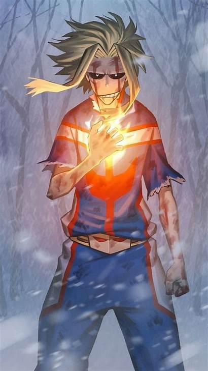 Academia Might Hero 4k Boku Toshinori Yagi