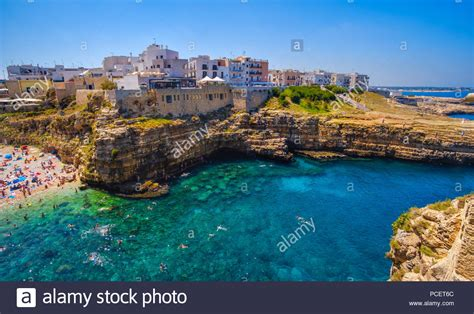 Polignano A Mare Stock Photos And Polignano A Mare Stock