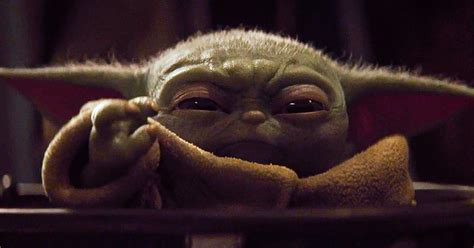 baby yodas tiny shoulders carried disney   million subscribers digital trends