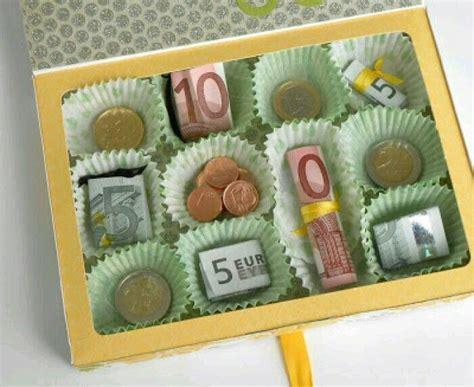 Kleine Hochzeitsgeschenke Ideen by Geld Liebevoll Verpacken Pralinen Geschenke