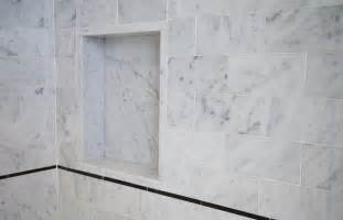 Honed Marble Bathroom by Master Bathroom In Carrara Marble Complete Tile