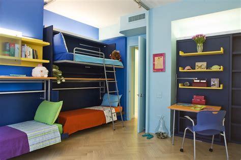 kid bunk beds 2 bedrooms 4 1 lots of ideas lifeedited