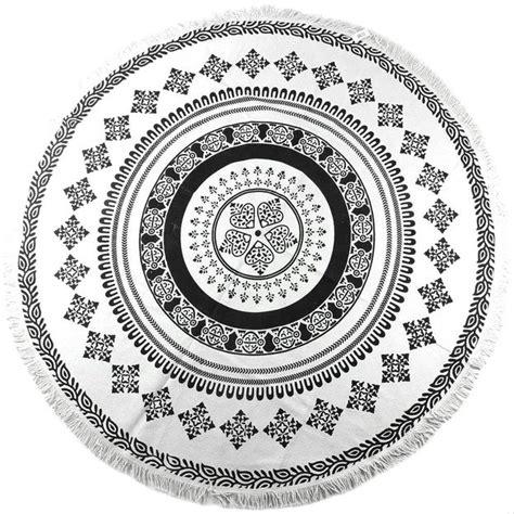 mandala teppich rund teppich mandala rund 180cm geschenkidee ch