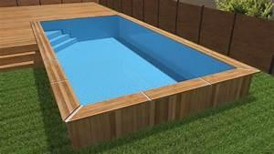Piscines Semi Enterrées : choisir une piscine castorama ~ Dallasstarsshop.com Idées de Décoration