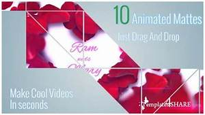 clean animated motion mattes after effects motion With after effect motion graphics templates