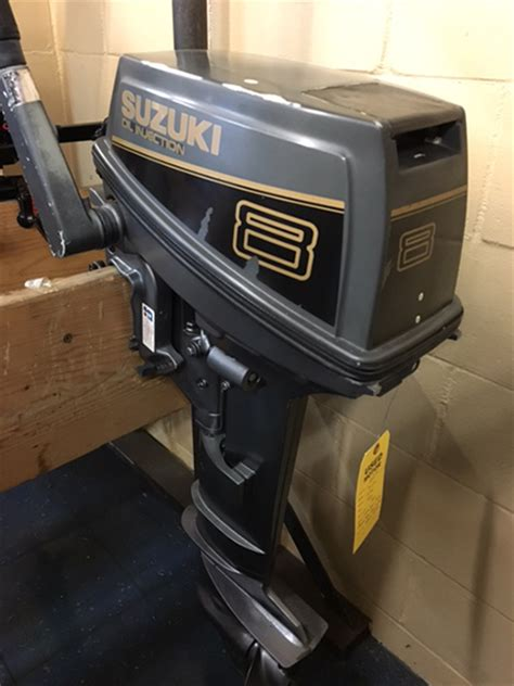 Used Suzuki Outboard Parts by Suzuki 8hp 1989 S Sport Center Used Outboard Motors
